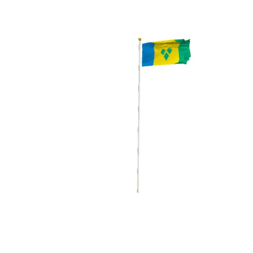 Screenshot of Flag, Saint Vincent and the Grenadines