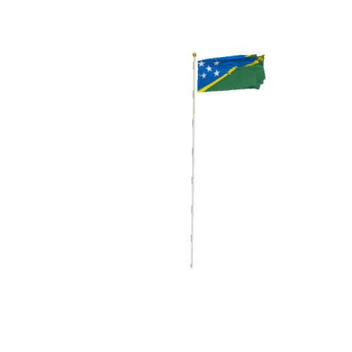 Screenshot of Flag, Solomon Islands