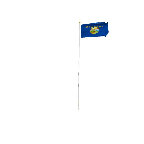 Screenshot of Flag, United States, Montana