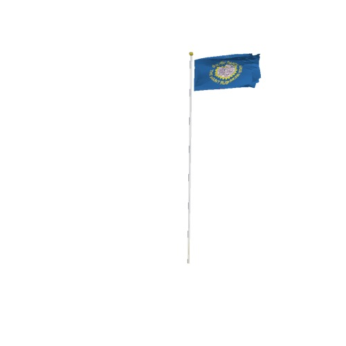 Screenshot of Flag, United States, South Dakota