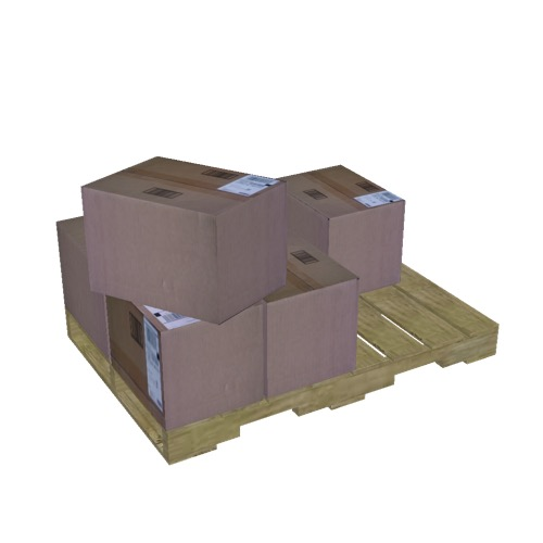 Screenshot of Pallet, Boxes