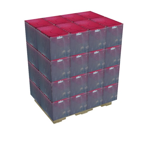 Screenshot of Pallet, Plastic Containers