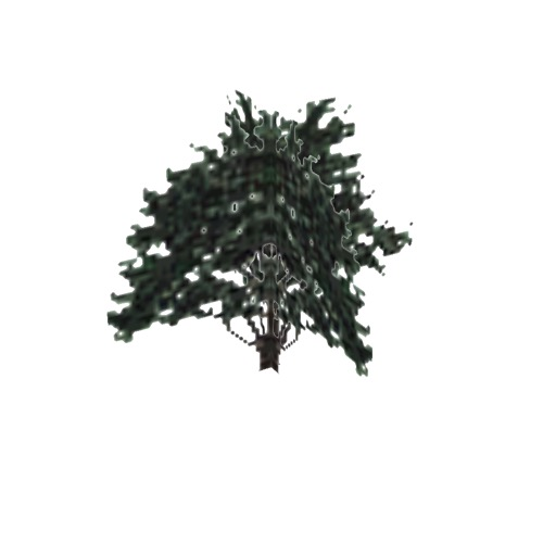Screenshot of Tree, Juniperus, Californica (California Juniper), 8m