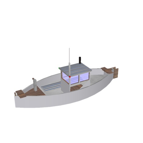 Screenshot of Fishing boat, small, 1