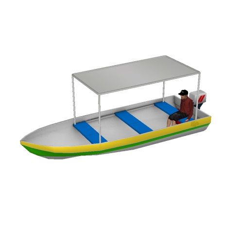 Screenshot of Fishing boat, small