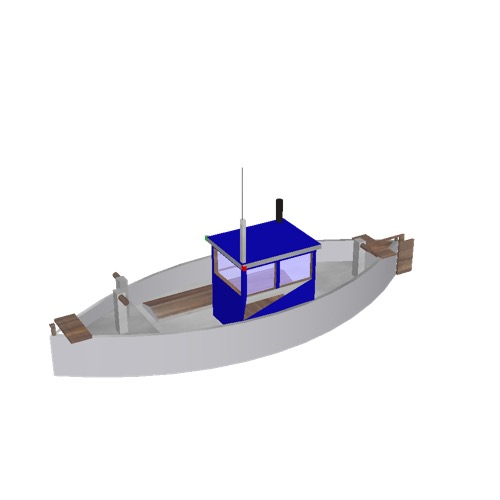 Screenshot of Fishing boat, small, 2