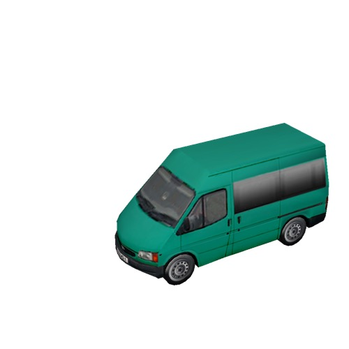 Screenshot of Minbus, Ford Transit, green