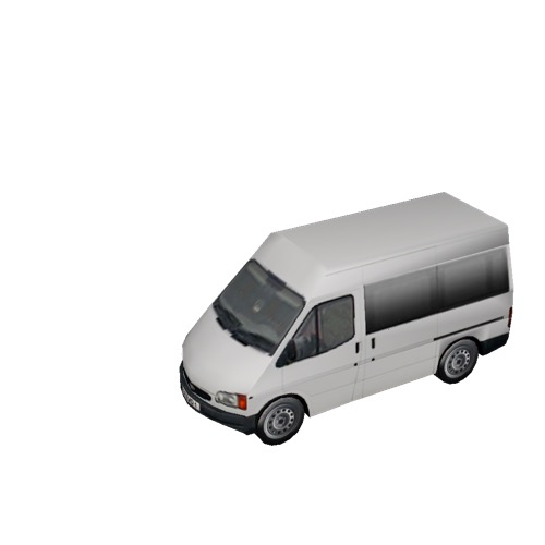 Screenshot of Minbus, Ford Transit, white