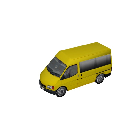 Screenshot of Minibus, Ford Transit, yellow