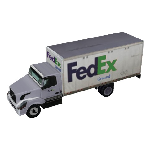 Screenshot of Box truck, 2-axle, FedEx® Ground
