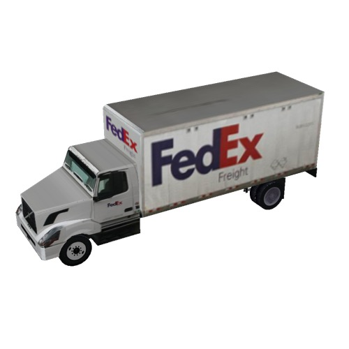 Screenshot of Box truck, 2-axle, FedEx®