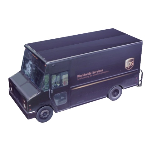 Screenshot of Box van, UPS®
