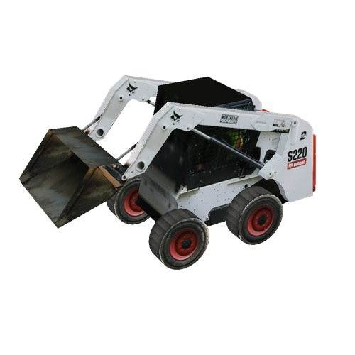 Screenshot of Bobcat® Skid Steer with Shovel