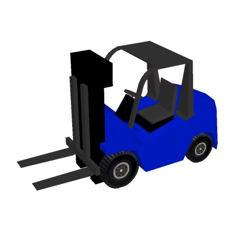 Screenshot of Fork Lift, small, blue