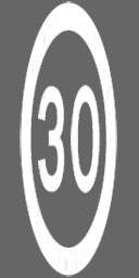 Screenshot of Ground traffic marking - Speed Limit (30)